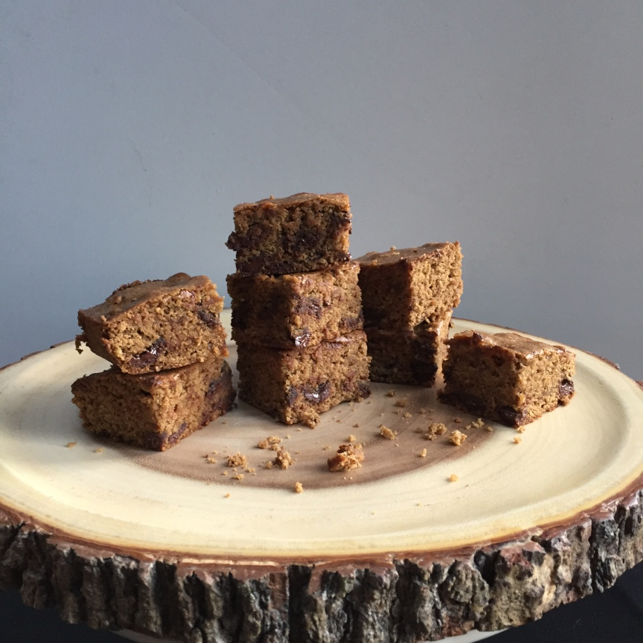 Gluten free Chocolate Coffee Blondies