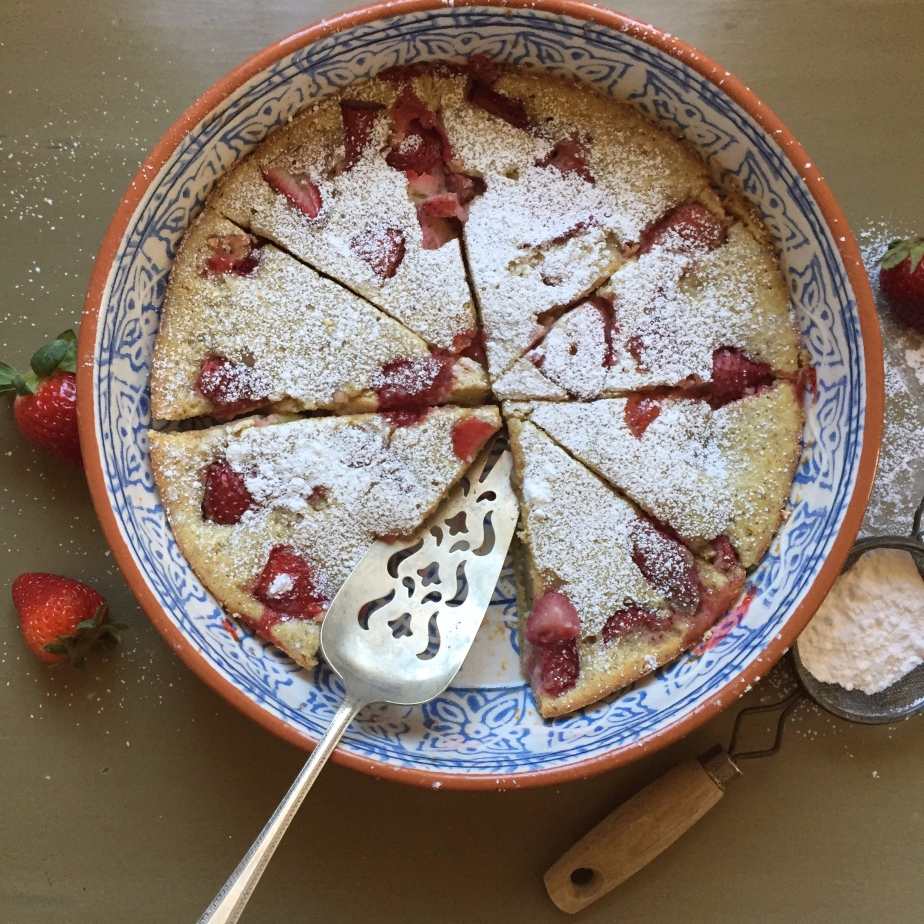Gluten-Free Strawberry Clafoutis