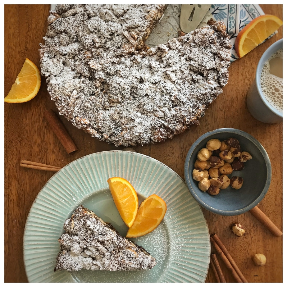 Gluten-free Panforte with Oranges and Nuts